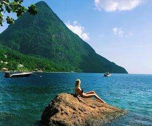 adventure, wanderlust, and ocean image