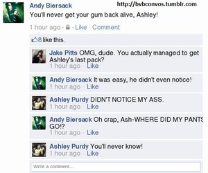 black veil brides and andley image