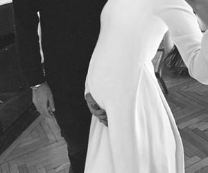 black, pregnant, and couple image