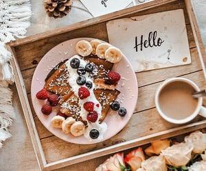 coffee, banana, and food image