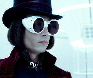 johnny depp, Willy Wonka, and charlie and the chocolate factory image