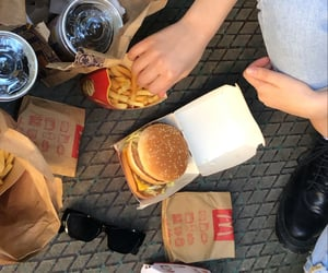cola, food, and fries image