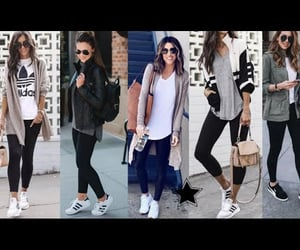 blogger, leggins, and moda image