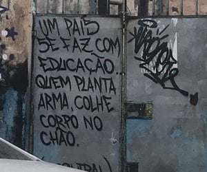 graffitti, quotes, and pichação image