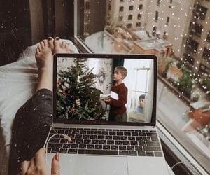 christmas, movie, and snow image