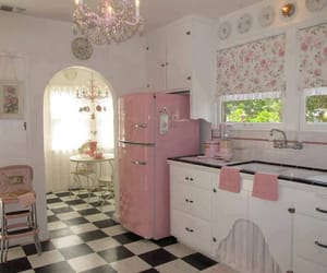 kitchen, pink, and purple image