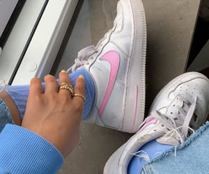 air force, pastel, and pink image