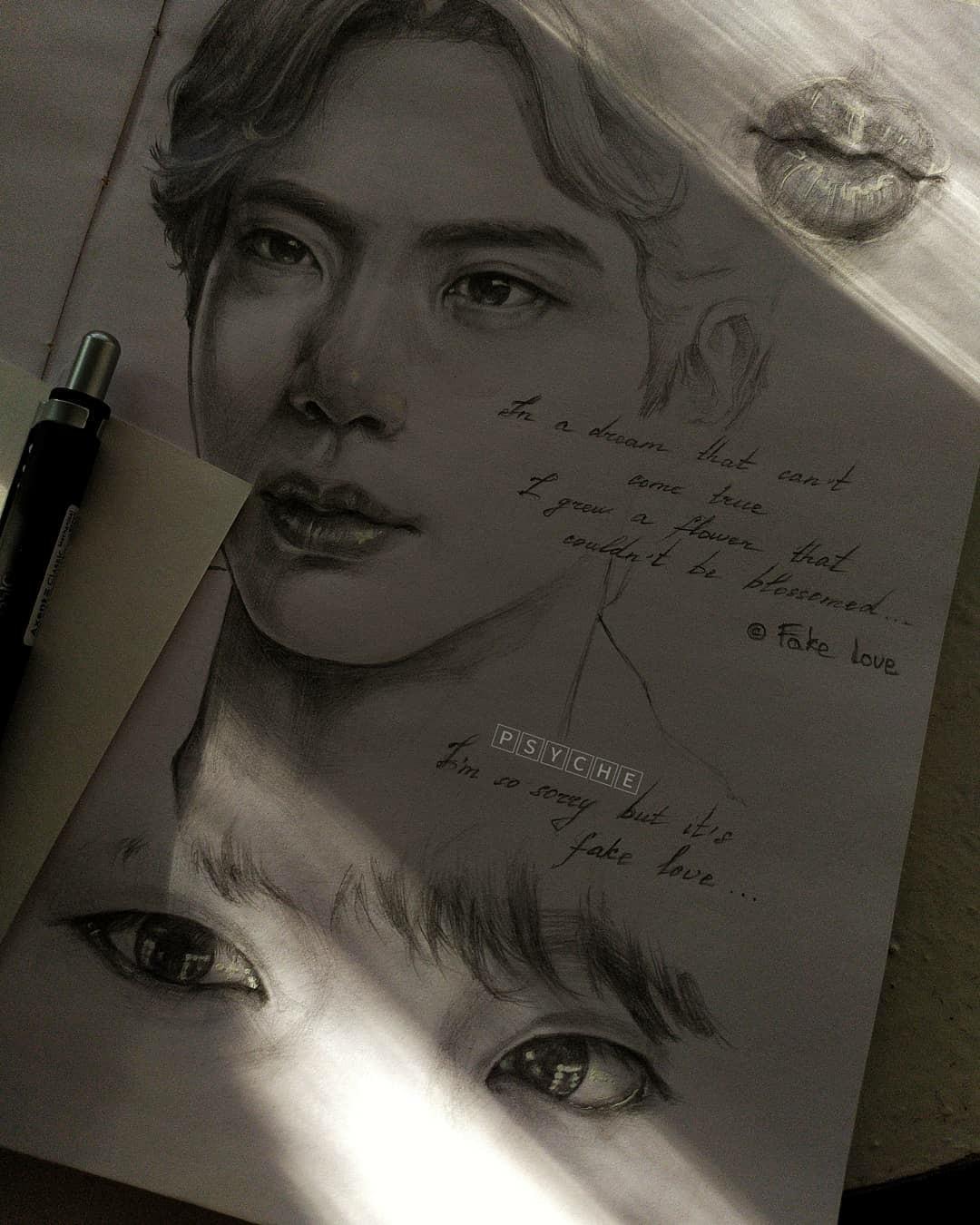 art, drawing, and jin image