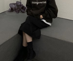 streetwear, baggy, and outfit image