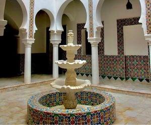 Algeria, fountain, and house image