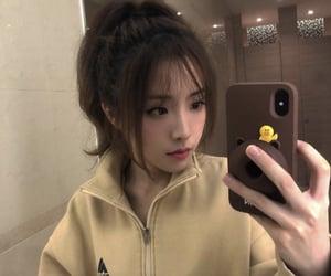 asian girl, beautiful girl, and cute girl image