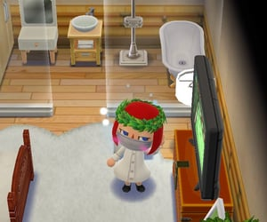 animal crossing, room, and ideas image
