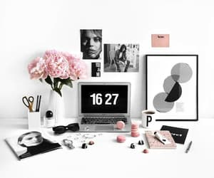 design, desk, and girly image