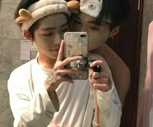 aesthetic, asian gay, and love image
