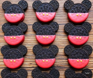Cookies, micky mouse, and oreo image