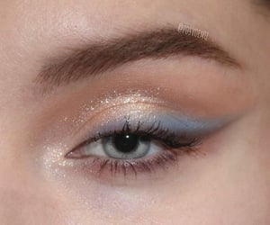 eyeshadow, beautiful, and beauty image