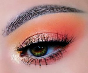eyeshadow, fashion, and makeup image