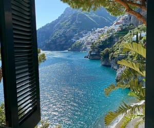 beach, summer, and villa treville image