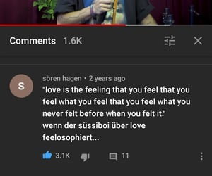 feeling, quote, and love image
