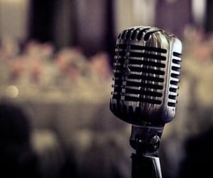microphone, party, and sing image