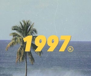 1997, aesthetic, and beach image