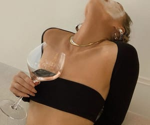style, wine, and gold image