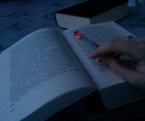 book, grunge, and smoke image