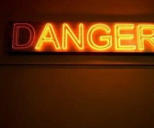 neon, aesthetic, and danger image