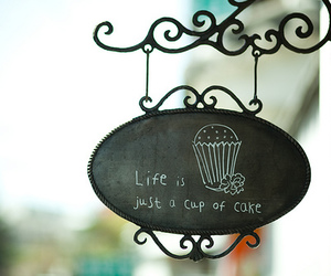 cake, cup, and shop image