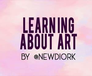 art, pearl, and vermeer image