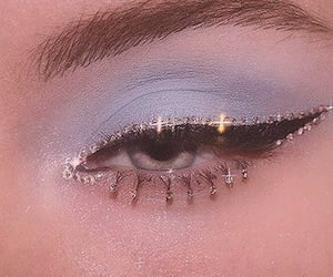 blue, eye makeup, and eyeshadow image