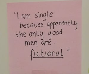 fiction, post-it, and quote image