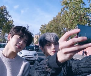 mark, taeyong, and johnny image