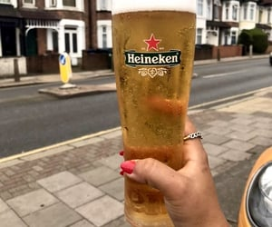 beer, drink, and london image