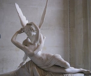 aesthetic, angel, and sculpture image