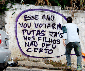 politic, quote, and go-mulher-pera image