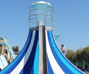 cyprus, water park, and water slide image