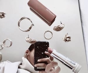 cosmetics, makeup, and fashion image