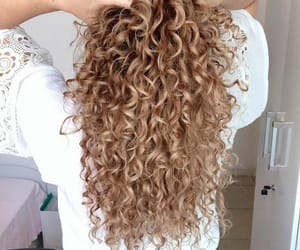 aesthetic, beauty, and curly hair image
