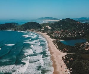 beach, brazil, and travel image