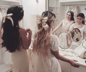 girl, bff, and bow image