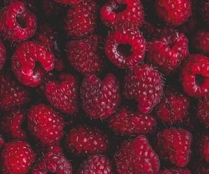 red, food, and wallpaper image