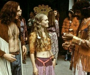 hippie, 60s, and 70s image