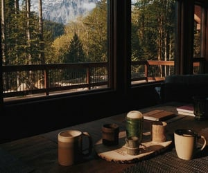 nature, coffee, and home image