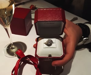 luxury, love, and ring image