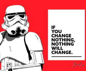change, red, and stormtrooper image