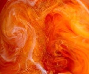 orange, aesthetic, and wallpaper image