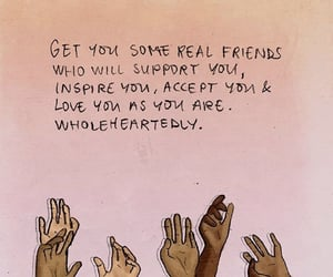 friendship, quotes, and thoughts image