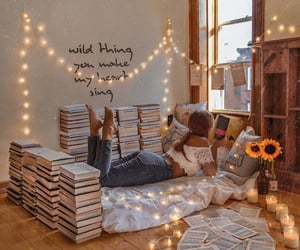 home, decor, and boho image