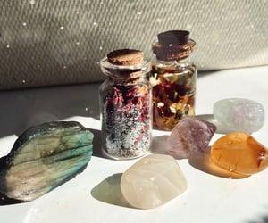 crystals, magic, and meditation image